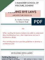 building byelaws