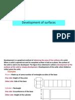 Surface Development
