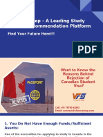 Reasons for Canadian Study Visa Rejection!