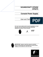 Sound Craft Console Technical Manual