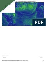 earth __ une carte mondiale des conditions de vent, météorologiques et océaniques