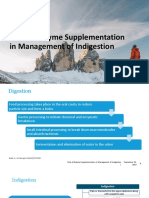 Role of Enzyme Supplementation in Management of Indigestion