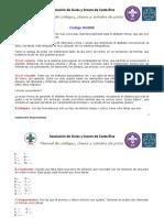 Manual de Códigos, Claves y Señales de Pista