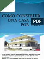 Como Construir Una Casa Paso Por Paso