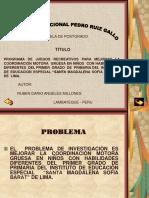 Presentacion Lima Juegos Recreativos