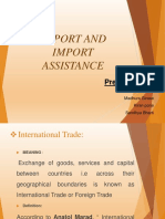 EXPORT AND IMPORT ASSISTANCE.pptx asma.pptx