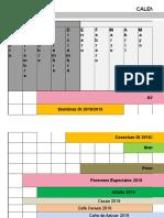 1.Calendario de Siembras y Cosechas 2019