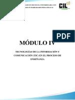 Módulo IV - Docencia u