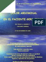 Dolor Abdominal en El Paciente Geriatrico[1] Ppt Share)