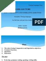 Comparative and Superlative Adjectives_Все Специальности