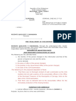 Pre-Trial Brief Defense