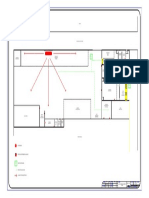 Vista en Planta de Oficinas Administrativas-model