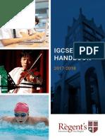 IGCSE Handbook 2017-18