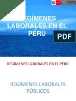 Regimenes Laborales en El Perú 2019