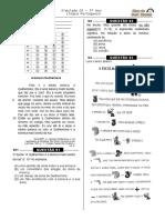 Simulado 3 (Port. 5º Ano - Blog Do Prof. Warles)