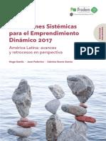 Condiciones sistemáticas para el emprendimiento dinámico 2017