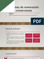 Sistemas de Numeración y Sus Conversiones