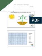 Guía de Repaso Sobre La Fotosíntesis