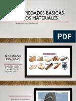 Propiedades Basicas de Los Materiales