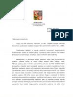 Odpoved MV - Mobilni Komunikace IZS