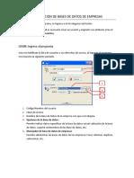 3.1 Manual Para Crear Bases de Datos de Empresas