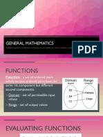 General Mathematics PowerPoint