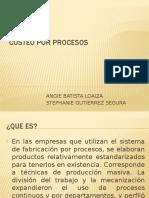 costeo de procesos
