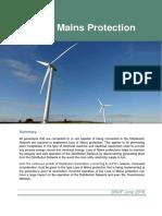 9. Loss of Mains Protection