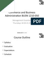 Chapter 1 - Management - PP Slides - BM(1)