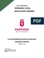 Ordenanza Local 2017