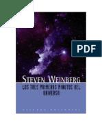 Weinberg Steven - Los Tres Primeros Minutos Del Universo