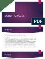 Sgbd - Oracle