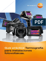Guía Práctica Termografía Para Instalaciones Fotovoltaicas
