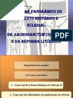 SC - Olhar Panorâmico Do Contexto Histórico e Eclesial
