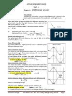 CHAP 1 Interference of Light New Syllabus-1
