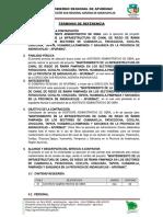 Tdr-Asistente Administrativo 2019