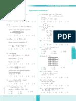 Ficha de Refuerzo Operaciones Matemáticas