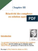 [4] Cours PPT(2018-2019) Les Complexes en Solution Aqueuse