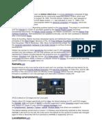 Debian Features