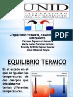 EQUILIBRIO TERMICO, CAMBIO DE FASES».pptx