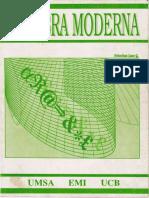 Libro Algebra Moderna-Lazo Sebastian