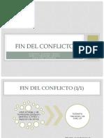 Exposición Fin Del Conflicto