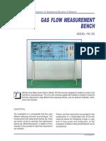 Gas Flow Measurement Bench FM120