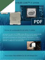 Procesador Intel® Core™ i7-6900K