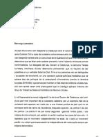 Carta del president de la Generalitat al president espanyol en funcions, Pedro Sánchez