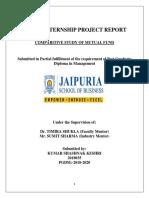 Sharekhan Internship Report