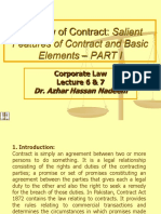 Lec 6 & 7_Law of Contract Part I