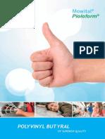 Kuraray PVB Brochure 2013