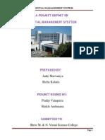 Hospital Management Sysytem