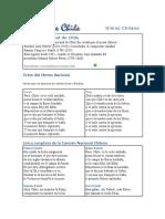 Himno Nacional de Chile Cristobal